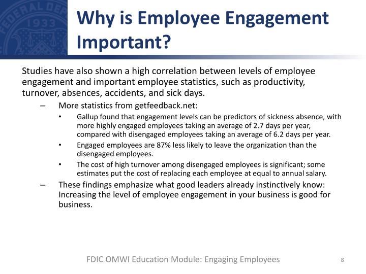 Why is Employee Engagement Important?
