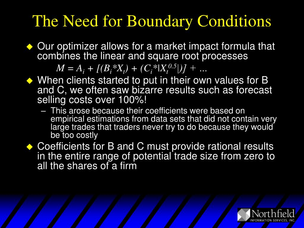 The Need for Boundary Conditions