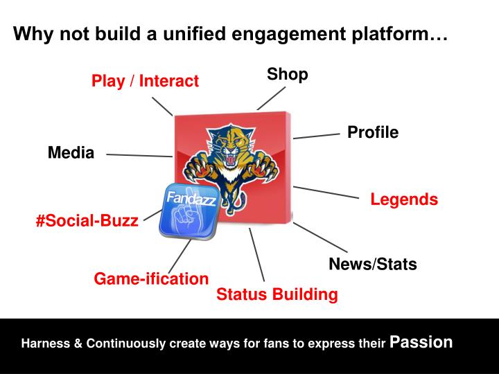 Why not build a unified engagement platform…