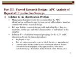 part iii second research design apc analysis of repeated cross section surveys45