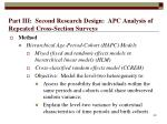 part iii second research design apc analysis of repeated cross section surveys49