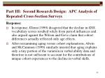 part iii second research design apc analysis of repeated cross section surveys52