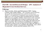 part iii second research design apc analysis of repeated cross section surveys53