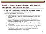 part iii second research design apc analysis of repeated cross section surveys58