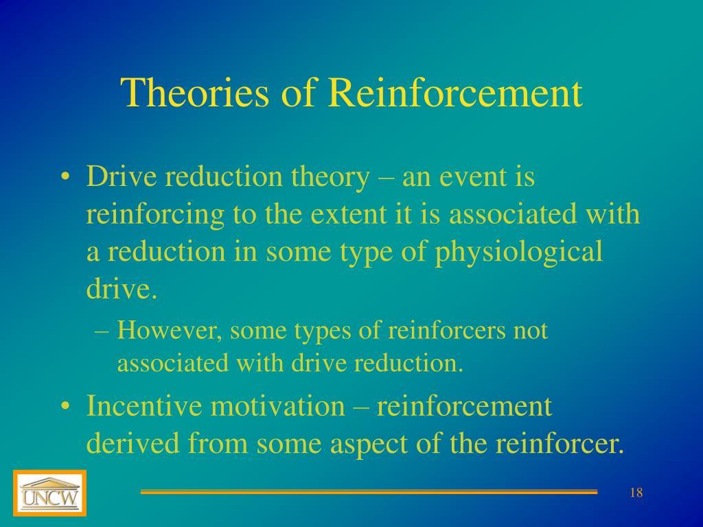 Theories of Reinforcement