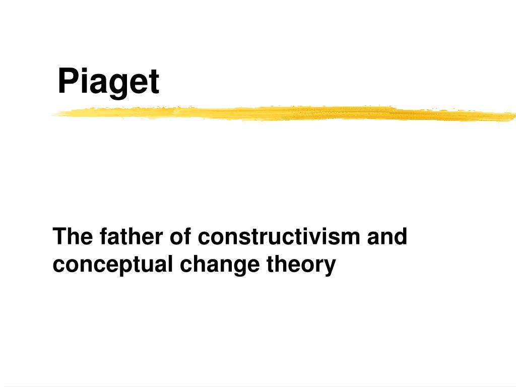 piaget constructivism
