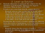 2 level up solution