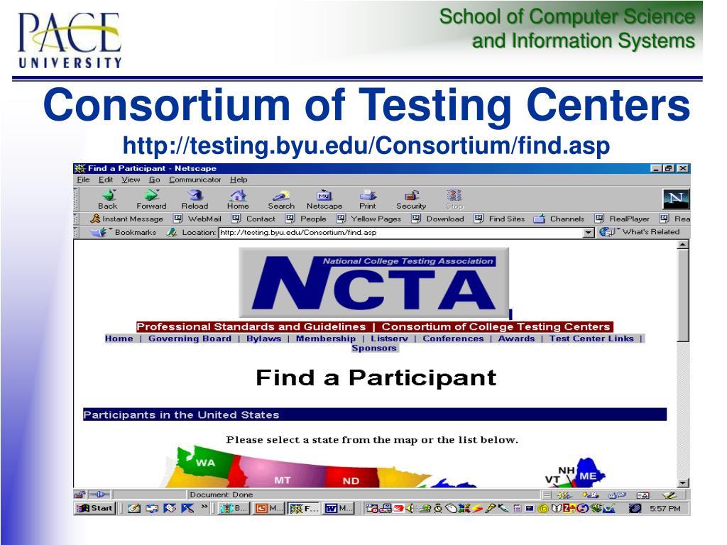 Consortium of Testing Centers