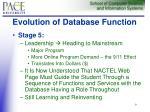 evolution of database function9