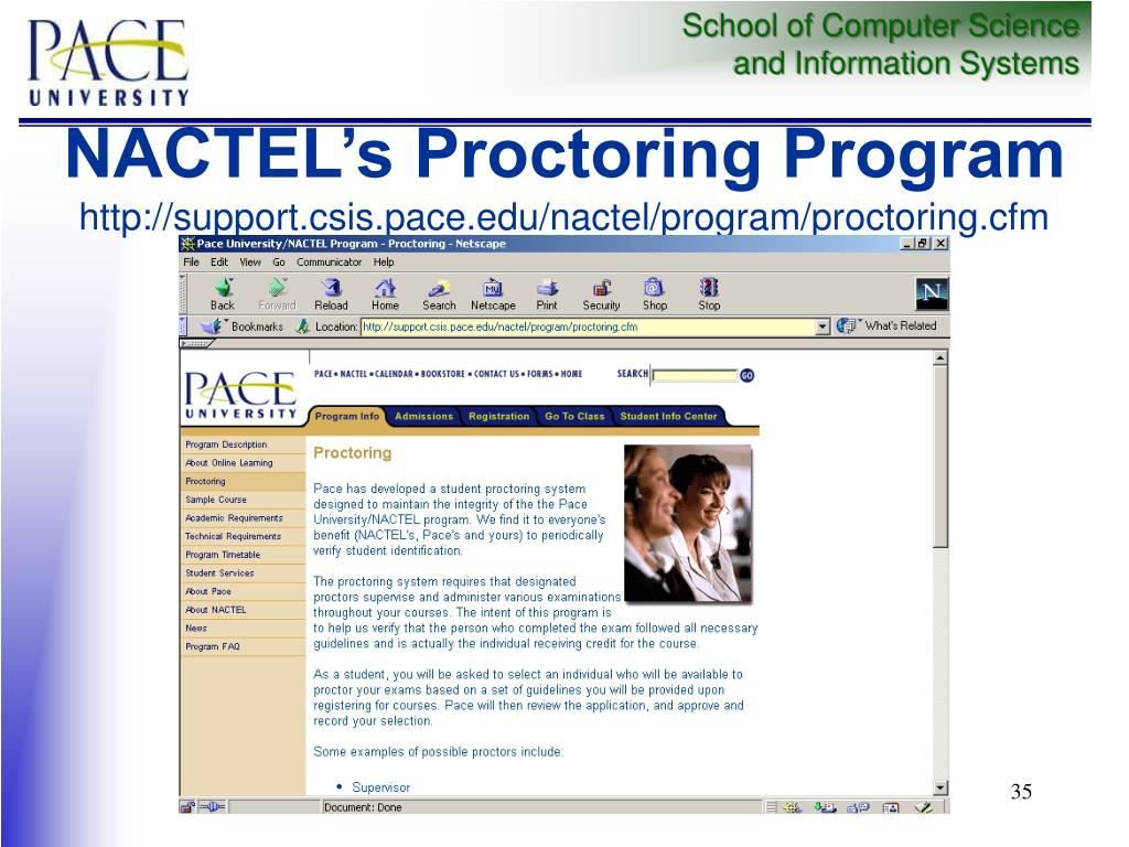 NACTEL's Proctoring Program