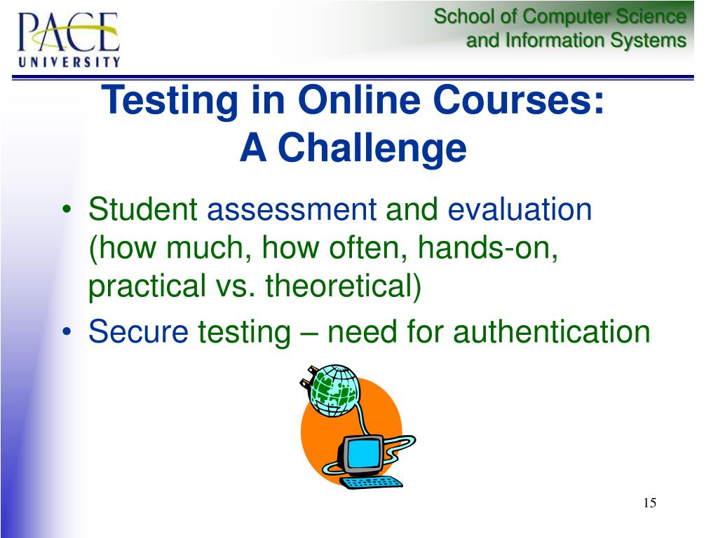 Testing in Online Courses: