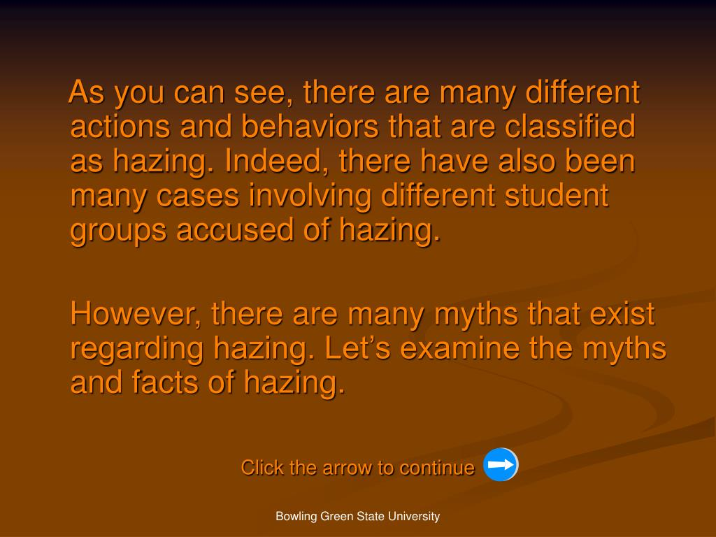 As you can see, there are many different actions and behaviors that are classified as hazing. Indeed, there have also been many cases involving different student groups accused of hazing.