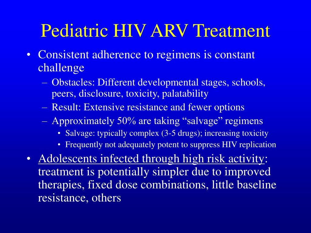Pediatric HIV ARV Treatment