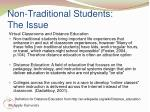 non traditional students the issue31
