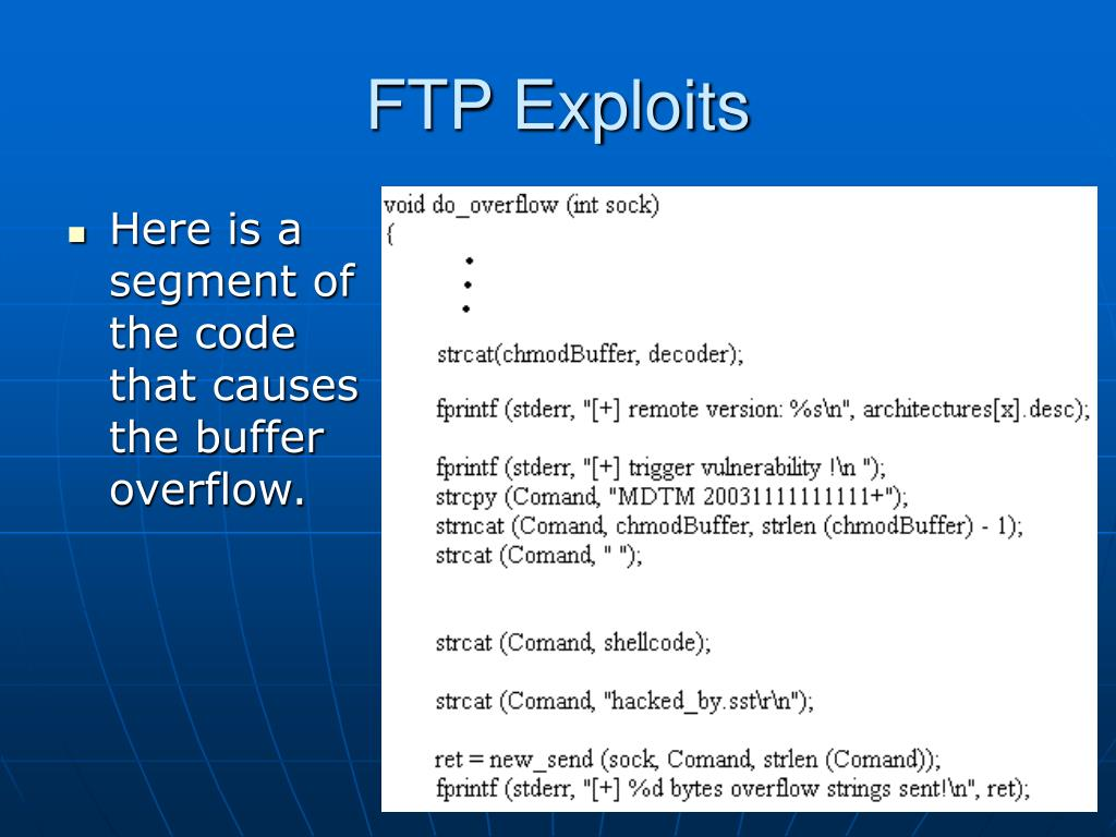 FTP Exploits