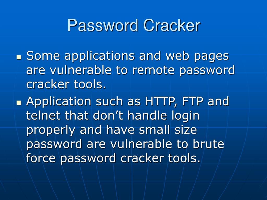 Password Cracker