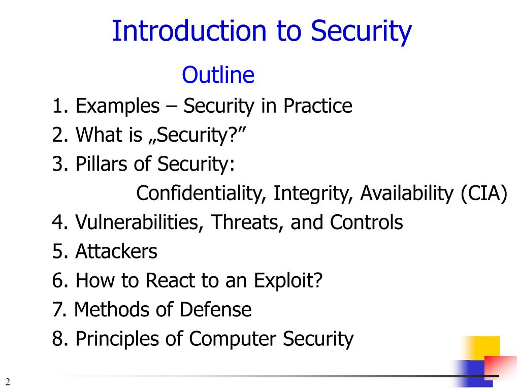 intro to it security unit 2 Unit 2 introduction to recovery protocols the administrative staff and school emergency response team should be prepared to address immediate short-term needs, as well as long-term recovery efforts.