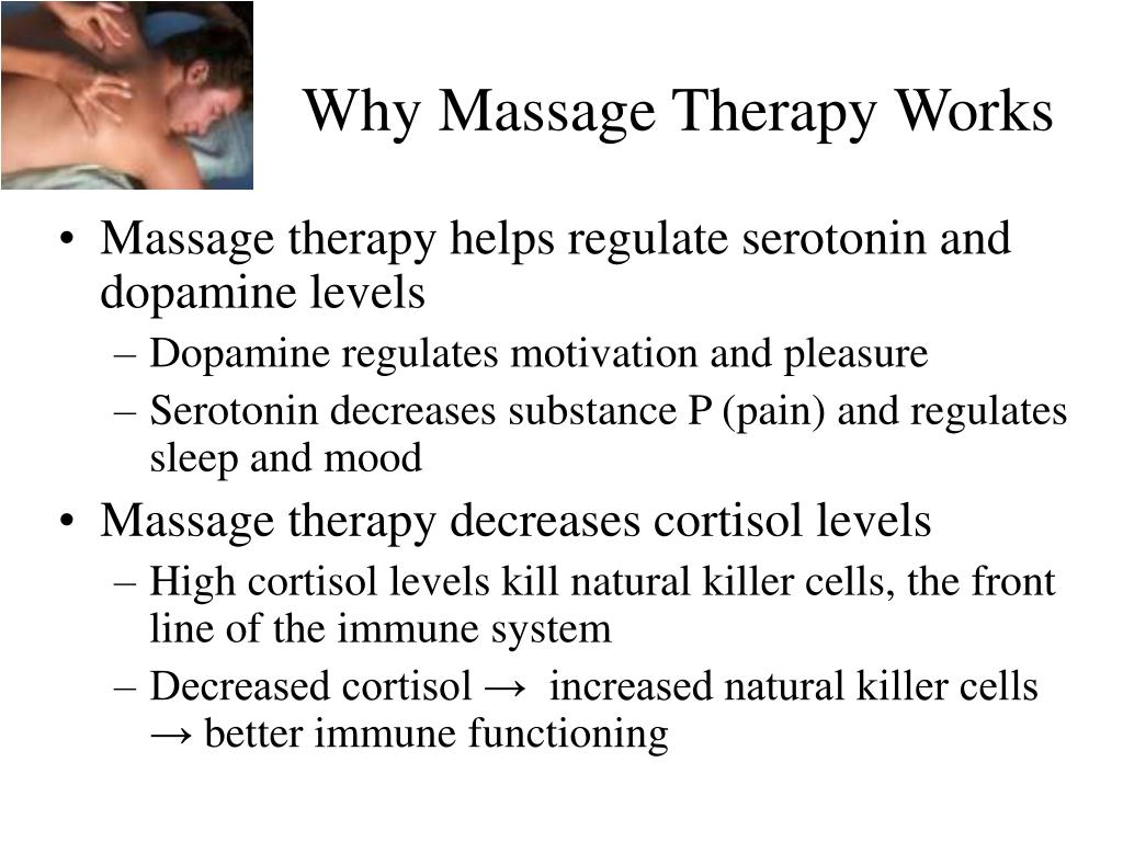 Why Massage Therapy Works