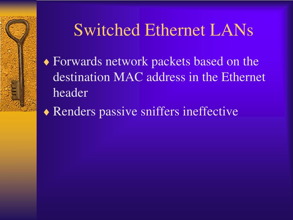 Switched Ethernet LANs