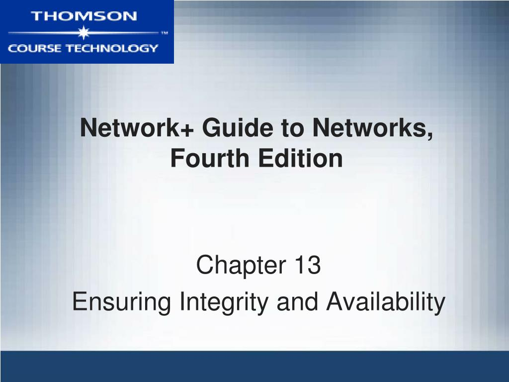 network guide to networks fourth edition l.