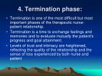 4 termination phase
