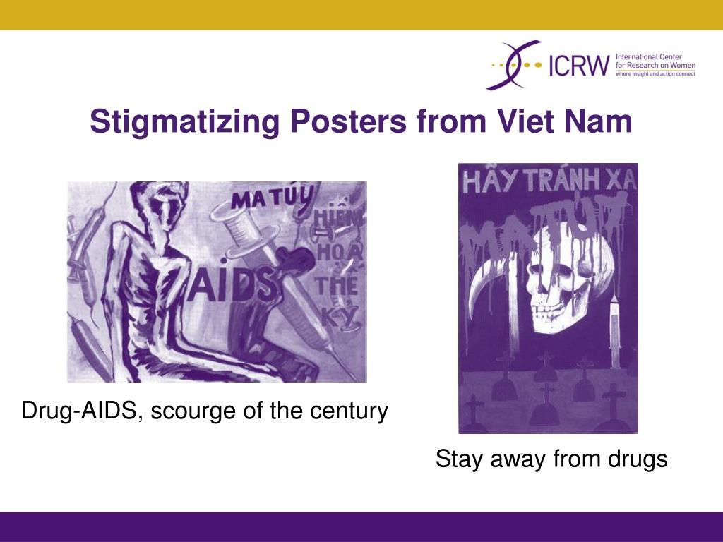 Stigmatizing Posters from Viet Nam