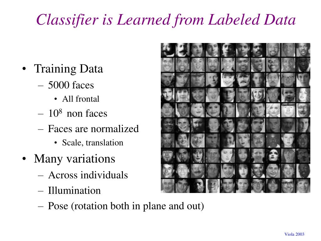 Classifier is Learned from Labeled Data