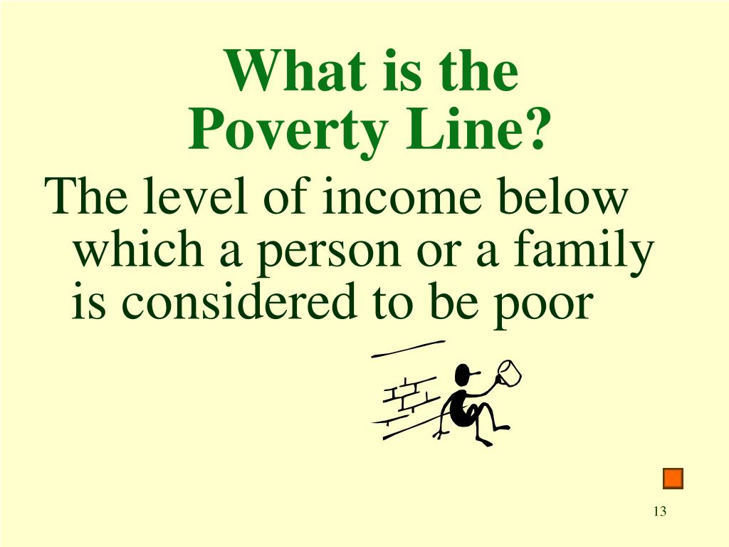What is the Poverty Line?