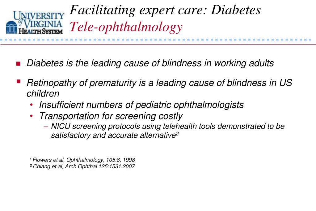 Facilitating expert care: Diabetes