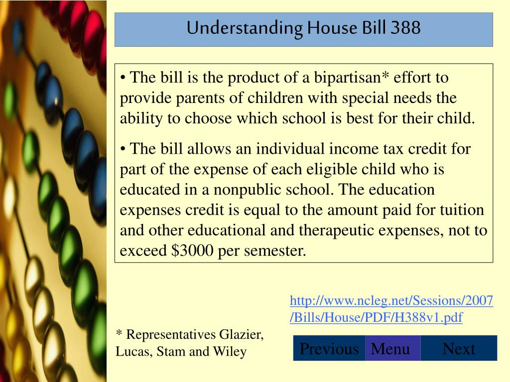 Understanding House Bill 388