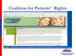 coalition for patients rights20