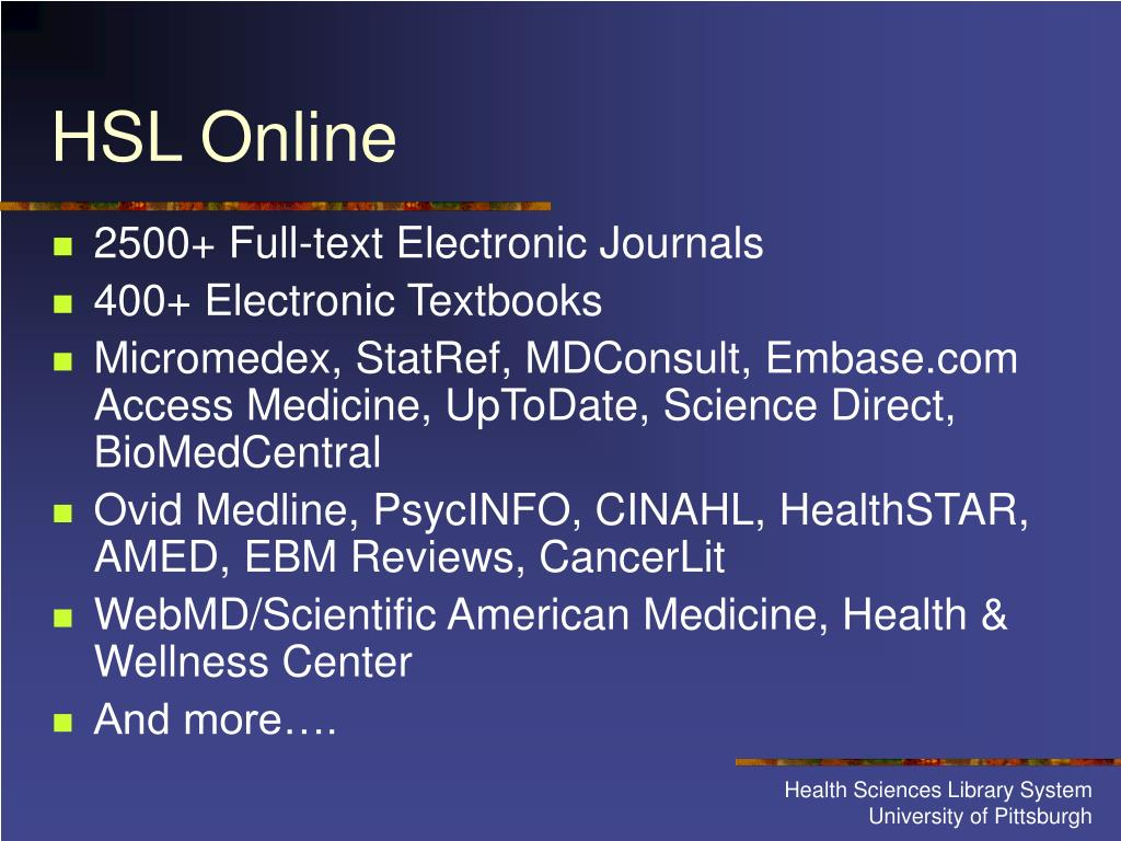 2500+ Full-text Electronic Journals
