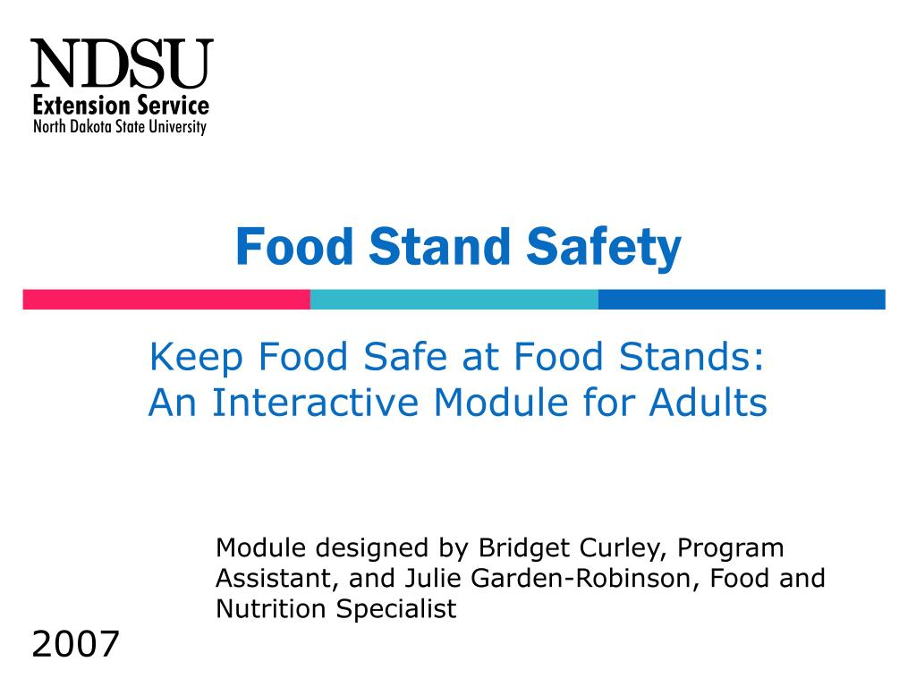 Food Stand Safety