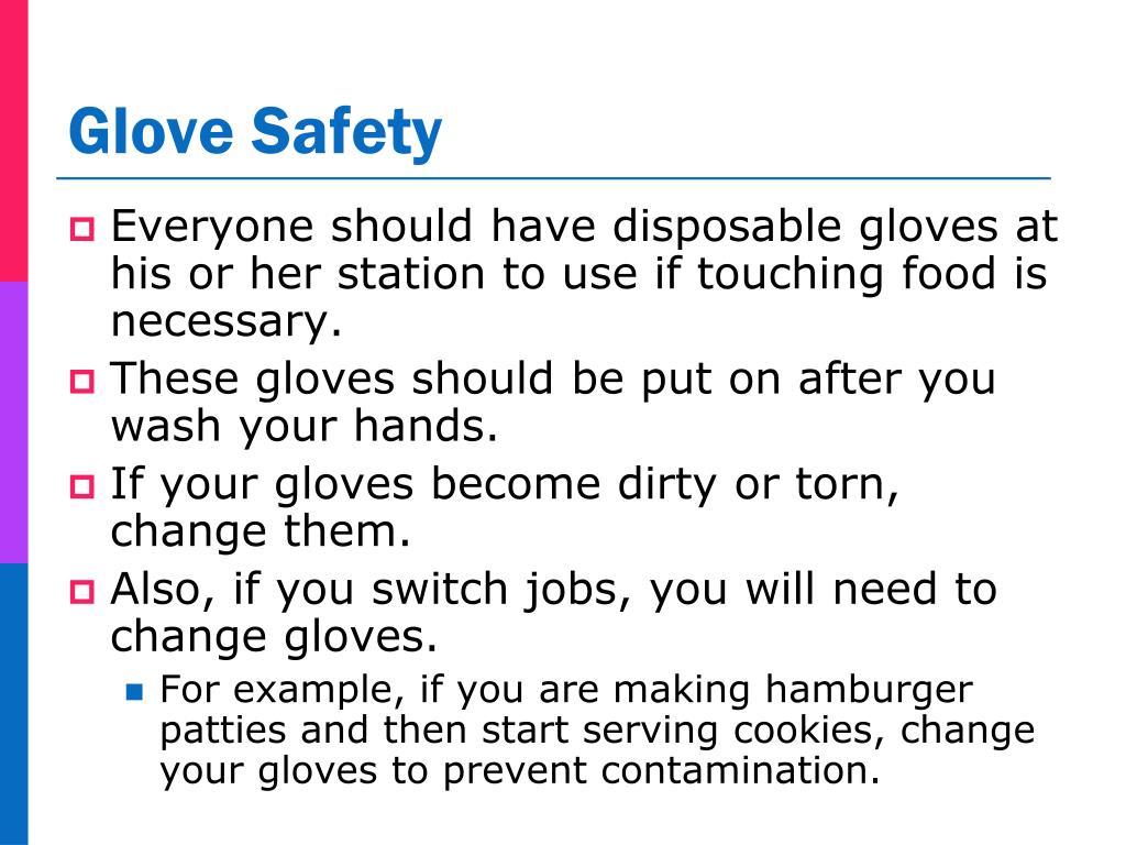 Glove Safety