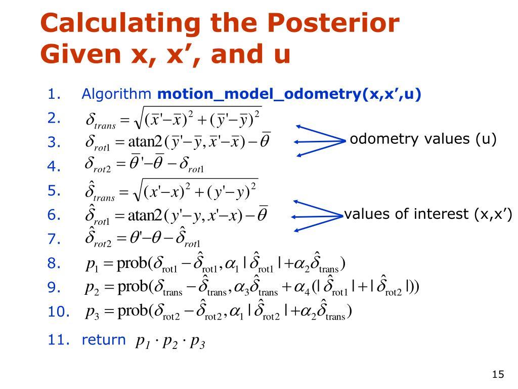 values of interest (x,x')