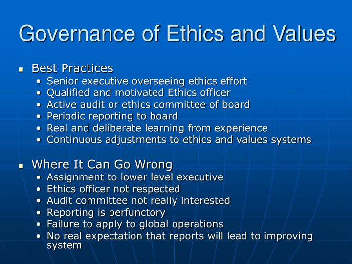 Ppt toward an ethical culture characteristics of an - Ethics and compliance officer association ...