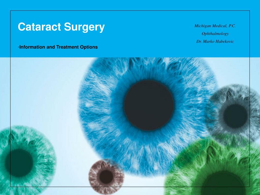 cataract surgery l.