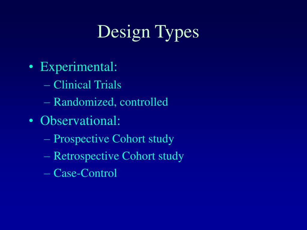 Design Types