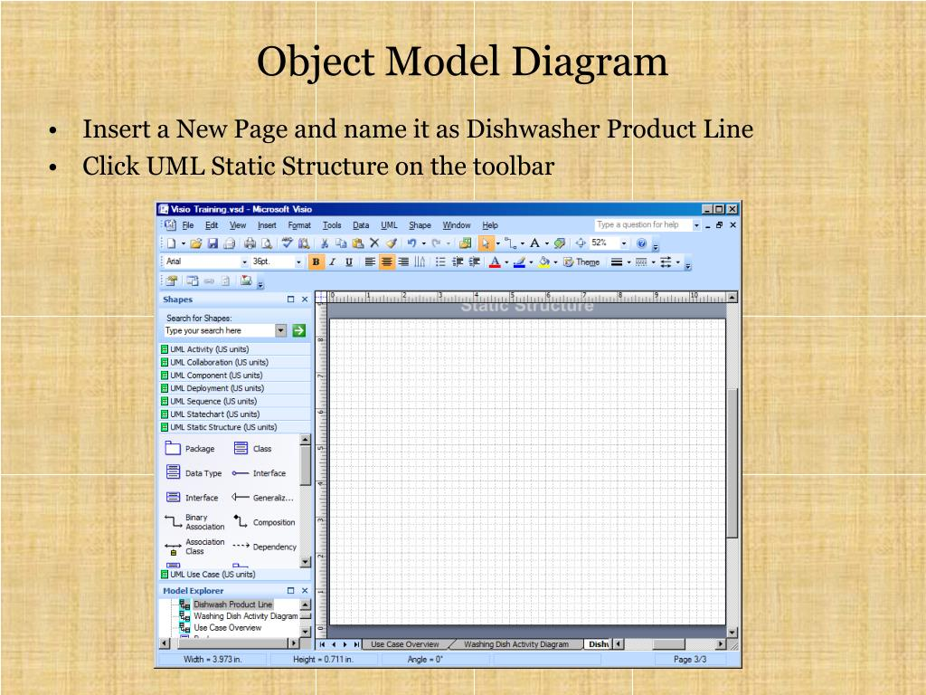 PPT - Visio 2007 for UML Tutorial PowerPoint Presentation ...