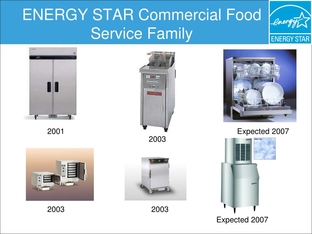 ENERGY STAR Commercial Food Service Family