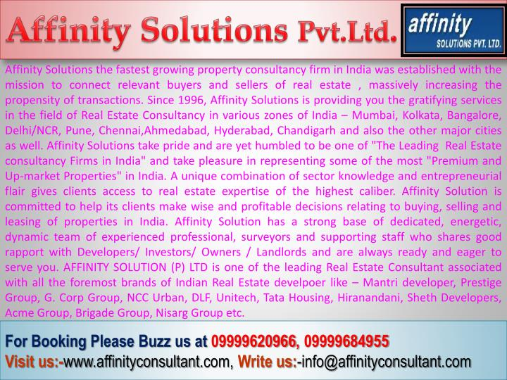 Affinity Solutions