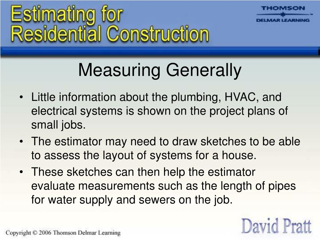 Measuring Generally