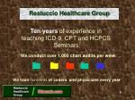 restuccio healthcare group