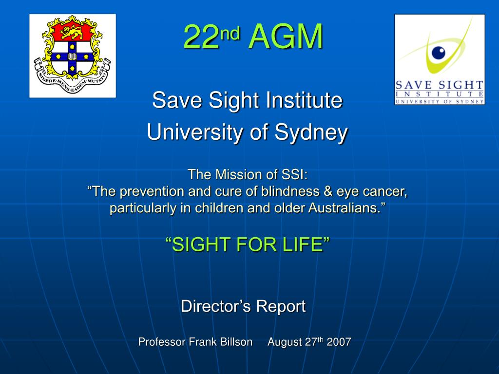 22 nd agm l.