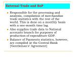 external trade and bop