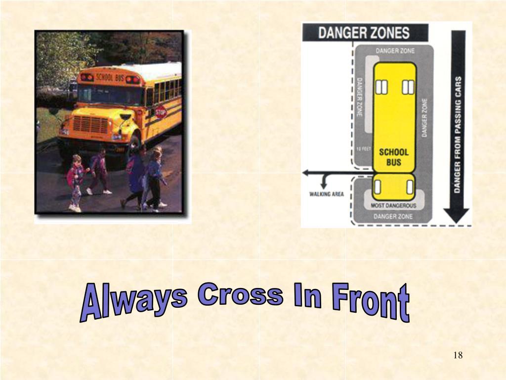 Always Cross In Front