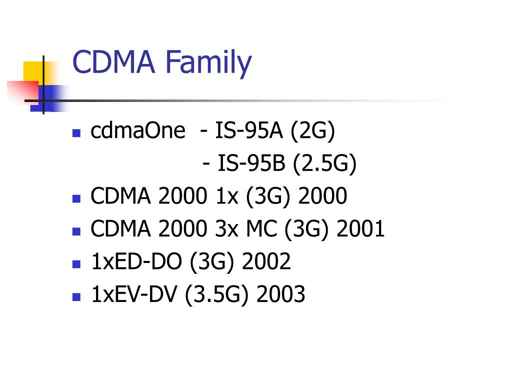 CDMA Family