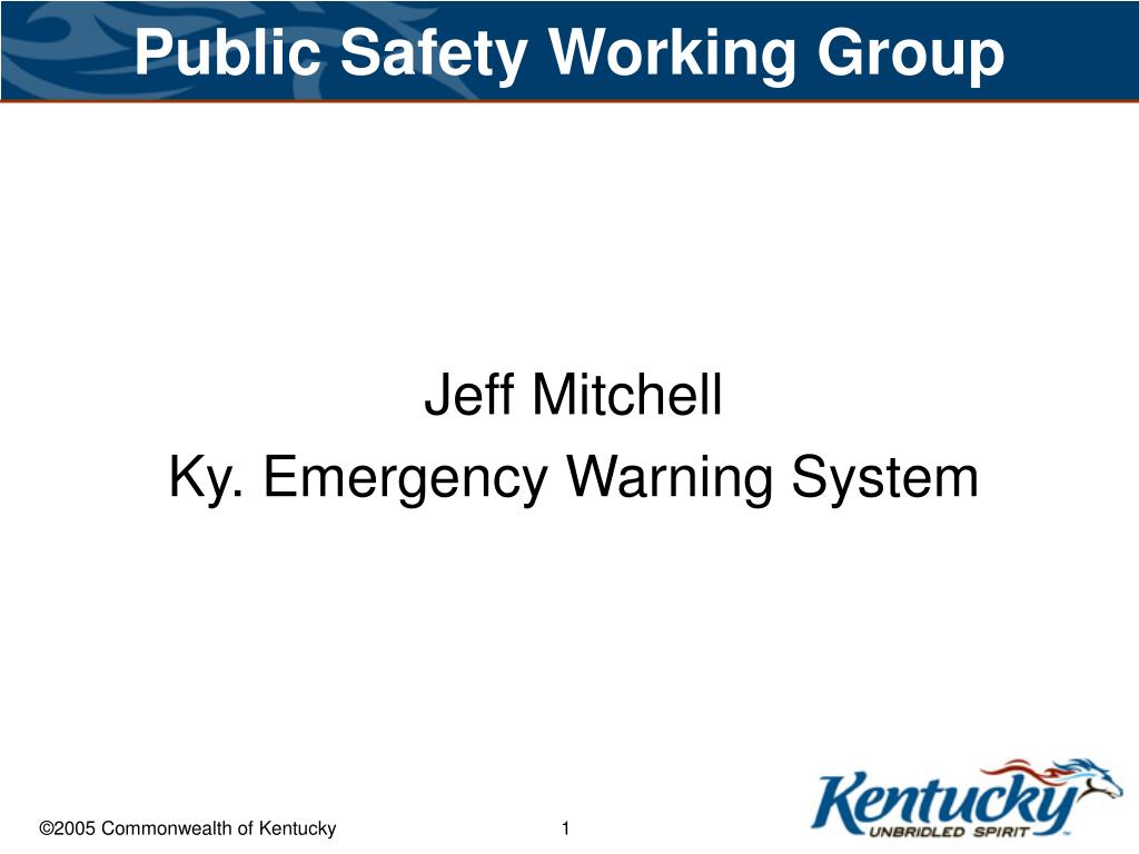 public safety working group l.
