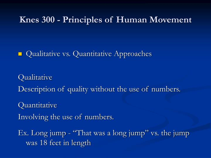 Knes 300 principles of human movement2