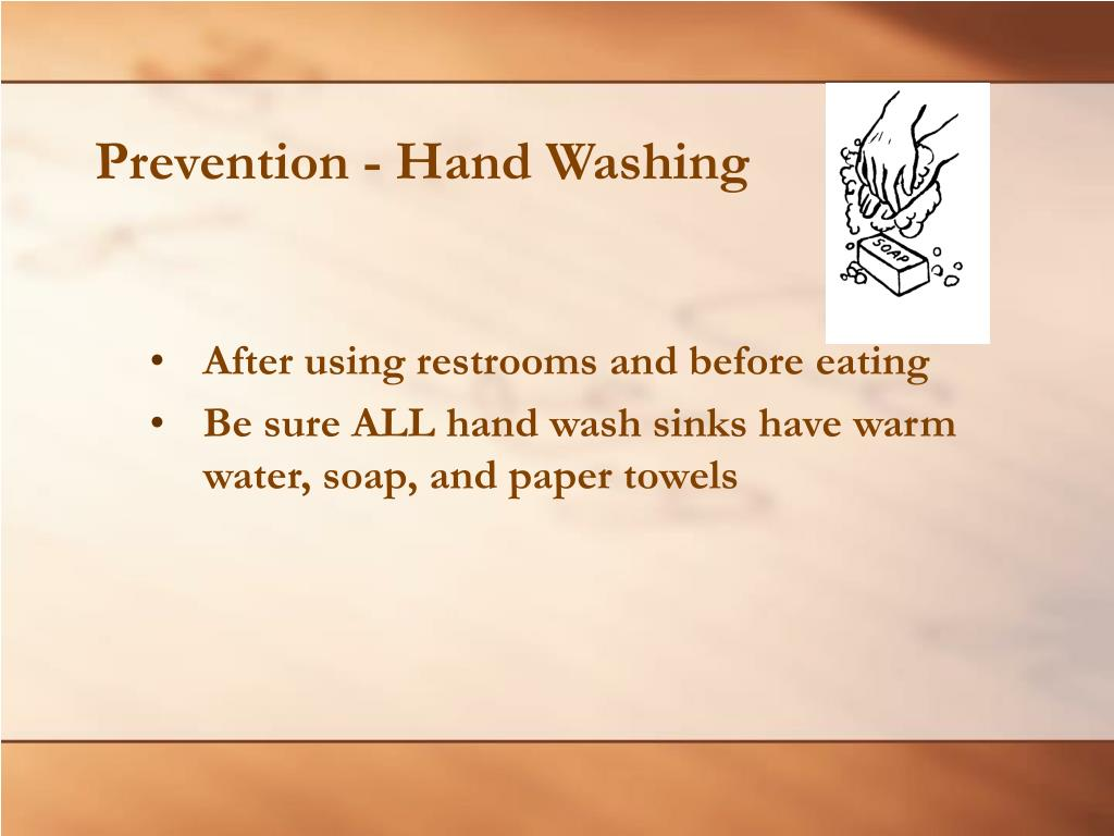 Prevention - Hand Washing